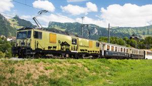 The Chocolate Train in Switzerland