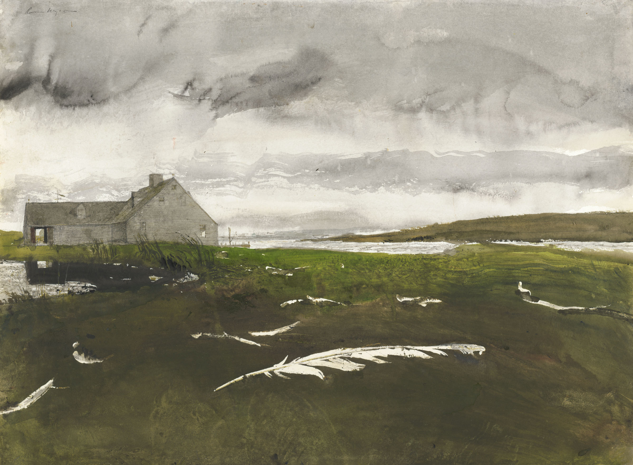 Andrew Wyeth at 100
