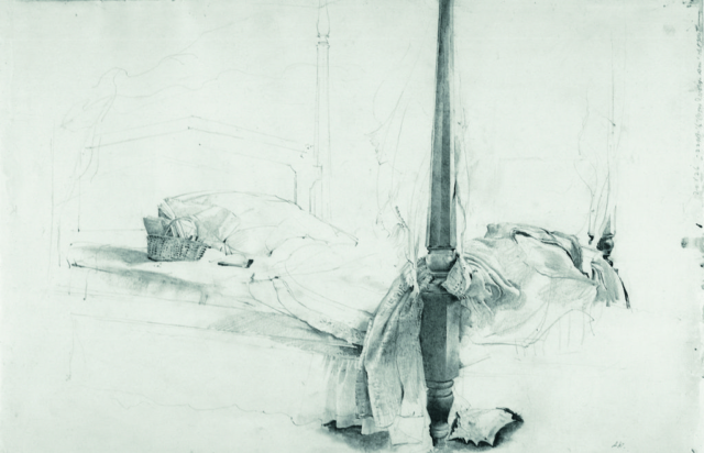 The Bed, Andrew Wyeth at 100