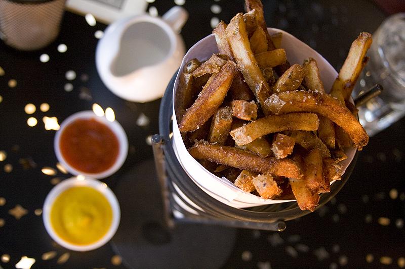 Duckfat fries in Portland, ME