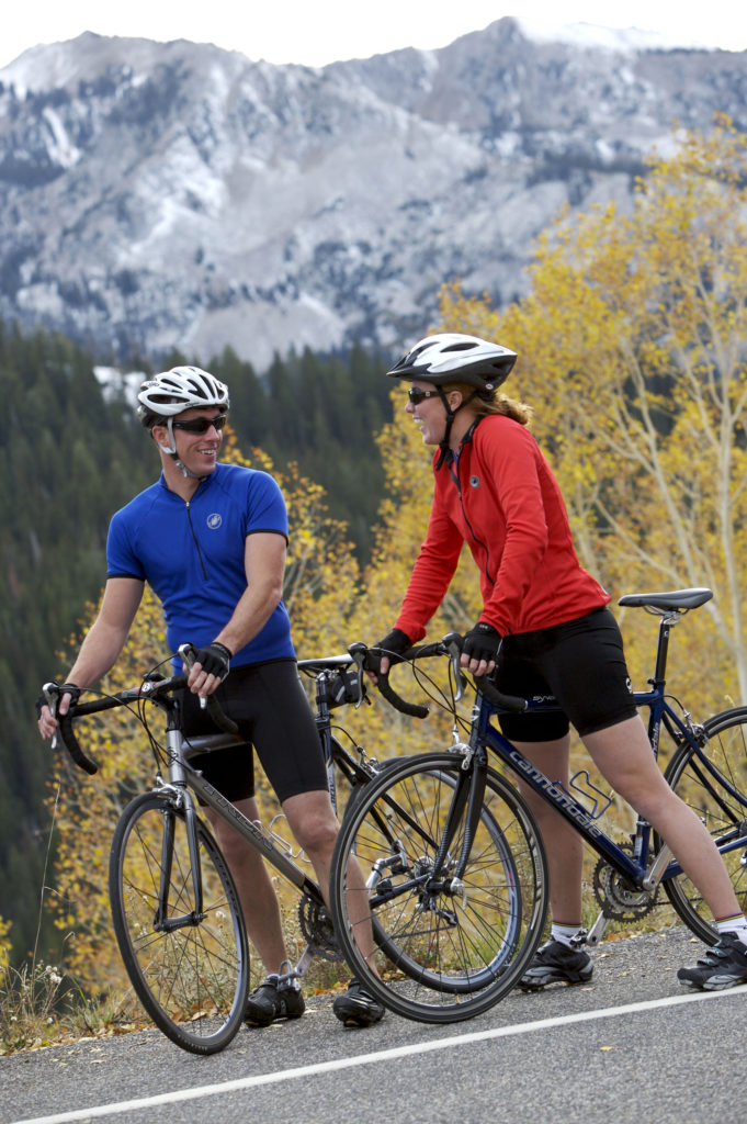 biking in Salt Lake
