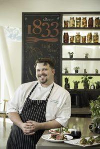 Chef Jim Barnhart at 1833