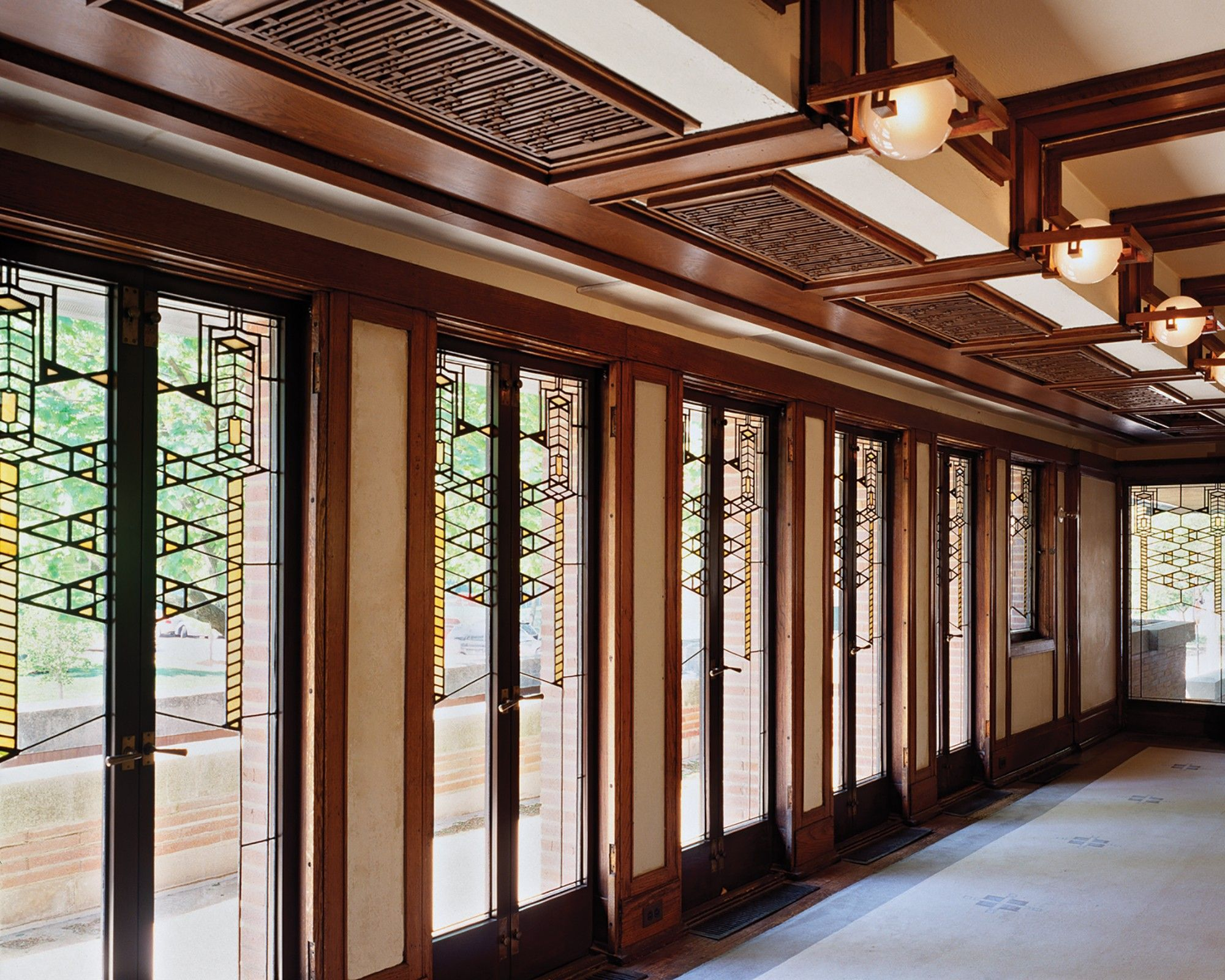 Visit The Frank Lloyd Wright Trust For Details On Booking A Guided Interior  Tour.